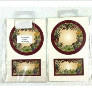 Other - Homemade Jar Spice Craft Food Gift Adhesive Labels